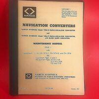 1967 Narco Nav Converters VOA-8 VOA-9 Maintenance Manual 3204/3205-600