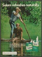 SALEM cigarettes - 1974 Vintage Print Ad