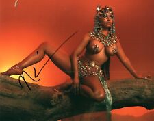 Nicki Minaj Very Hott Singer Rapper Signed 8x10 Photo Autographed COA Proof