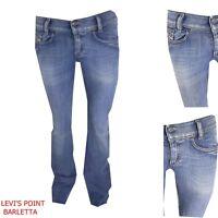 Jeans Diesel  Louvely Donna Stretch A Zampa D'elefante Tg W26 27 28 29 30 31 32