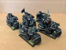Ravenwing Space Marine Bikes Painted x5 Lot C Warhammer 40K Dark Angels