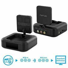 Nyrius 5.8GHz 4 Channel Wireless Video & Audio Sender Transmitter & Receiver