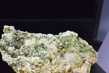 RARE ANDRADITE DEMANTOID GARNET Mineral Specimen LAB mine, Black Lake, CANADA