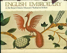 English Embroidery in the Royal Ontario Museum, Katharine Brett, signed copy