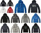 New Hollister by Abercrombie Men Zip Up Redondo Pull Over Sweat shirt HOODIE