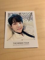 BTS SUGA [ WINGS Tour 2017 Trilogy Ticket Album Official Polaroid Photocard ]