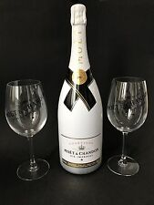 Moet Chandon Ice Imperial Champagner 1,5l 12% Vol + 2 Ice Imperial Glas Gläser