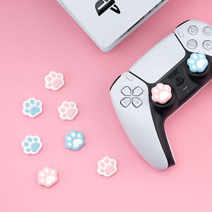 Cat Paw Thumb Stick Grip Cap Joystick Cover For PS5 PS4 PS3 Xbox 360 Switch Pro