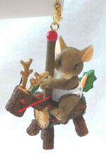Charming Tails Christmas Carousel Annual Ornament (Mouse) [Ltd Ed][Retired]