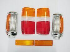 CORNER BUMPER TAIL LIGHT LENSES SET MITSUBISHI MIGHTY MAX 87-96 DODGE D-50 87-93