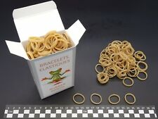 Elastiques Caoutchouc- Blond- 30(Ø20)mm x 3mm- boite de 100g