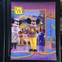 1988 WALT DISNEY'S MAGIC KINGDOM ON ICE vintage souvenir program PINOCCHIO Skate