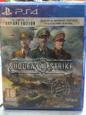 Sudden Strike 4 Limited Day One Edition Ita PS4 NUOVO SIGILLATO