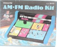 Radio Shack 1970's Science Fair AM FM Radio Kit Radio Shack  AS IS Vintage