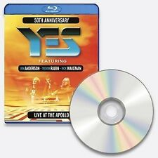 YES LIVE AT THE APOLLO BLU-RAY ALL REGIONS NEW