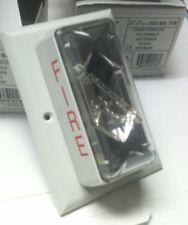 Integrity EST Strobe White Fire Alarm # 202-8A-TW