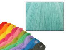 CYBERLOXSHOP PHANTASIA KANEKALON JUMBO BRAID ICED PETROL BLUE HAIR DREADS