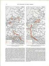 WW1 East Prussia And Galicia Maps German Offensive Warsaw