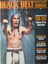 "1969 BLACK BELT YEARBOOK GOGEN ""THE CAT"" YAMAGUCHI KARATE KUNGT FU MARTIAL ARTS"