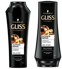 Schwarzkopf Gliss Ultimate Repair Shampoo & Conditioner with Liquid Keratin