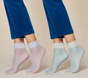 FIORE Soft Pop Luxury 20 Denier Super Fine Decorative Socks