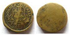 Peso monetale (Dobbia) doppia d'Italia (12,4 gr.)