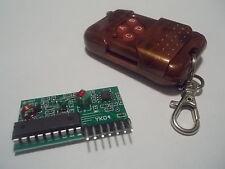 Modulo Wireless Ricevitore + Trasmettitore Telecomando 4 Pulsanti per Arduino