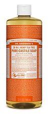 NEW Dr. Bronners Magic Soaps Pure Castile Soap 18 in 1 Hemp Tea Tree 32 Ounce