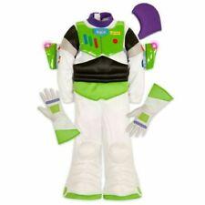 Disney Store Buzz Lightyear Costume Halloween Dress Up Light Up Wings Size 3