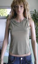 HALLHUBER Trägertop Top Shirt bauchfrei in Grün und Größe S ***NEUWERTIG***