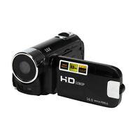 "2.7"" HD 1080P USB 16M 16X Zoom Videocamera Kamcorder DV Digitalkamera Schwarz"