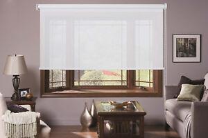 MODERN SCREEN SHADE ROLLER BLINDS BLINDS SHADE SUNSCREEN WINDOW 60-240CM 210DROP