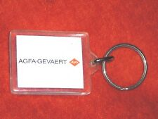 Porte-clé Keychain no KODAK but AGFA-GEVAERT AGFA Made in Denmark no BOURBON