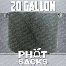 20 GALLON FABRIC GROW POTS SMART g container gro sacks breathable pots planters