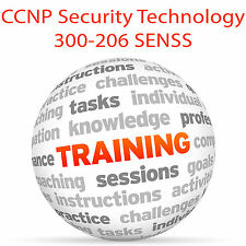 Cisco CCNP Security Technology 300-206 SENSS - Video Training Tutorial DVD