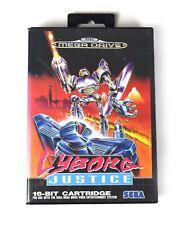 Cyborg Justice - Sega Mega Drive VGC Complete inc Manual