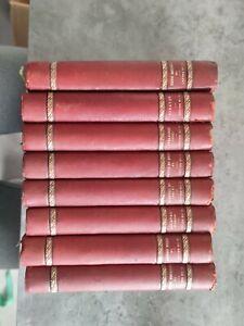 Rare Ancien Livres Honoré De Balzac Lot De 8 Livres