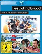 KINDSKÖPFE + KINDSKÖPFE 2 (Adam Sandler, Kevin James) 2 Blu-ray Discs NEU+OVP