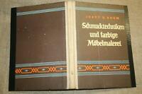 Fachbuch Bauernmöbel, Bauernmalerei, Möbelmalerei, Holzmalen, DDR 1961