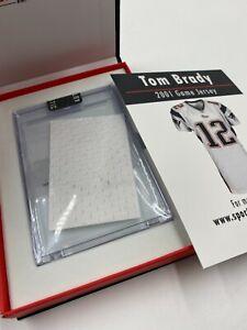 Tom Brady Patriots 2001 Game Worn Jersey Patch Relic Sportscards.com