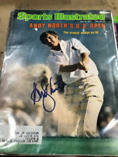 1985 Andy North Golf U.S. Open Autographed Signed Sports Illustrated