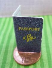 Mini Paper Photo ID Barbie Travel Passport-Train/Plane/Car-Diorama 1:6 Scale