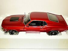 Acme 1970 Ford Mustang Boss 429 Street Fighter metallic red 1/18th scale