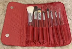 ✨ Morphe 8 Piece Candy Apple Red Makeup Brush Set Set 700 + Free Gift! ✨