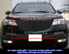 Aluminum Black Billet Grille For 2007-2009 Acura MDX