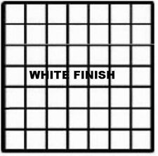 Store Display Fixtures 6 New Grid Cube Panels 14 X 14 White