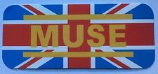 Muse UK Music Band Logo Sticker Decal Vinyl Rock Metal Car Bumper