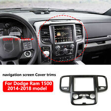 Central control navigation screen Cover trims for Dodge RAM 1500 2500  2014-2018