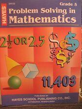 TEACHERS: Problem Solving in Mathematics (Grade 5)