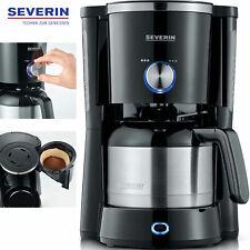 Severin Filter Kaffeemaschine Thermoskanne Isolier Thermo Kanne Edelstahl NEU